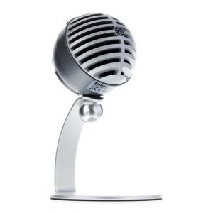 Shure Motiv MV5 Grey - Microfono Digitale a Condensatore per iOS/Android/Mac/PC