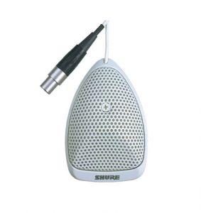 Shure MX391WC - Microfono a Zona di Pressione Bianco Cardioide