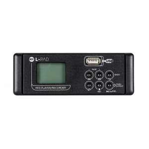 RCF SMP-R MKII, L-PAD, MP3 Player Card, Recording per LivePad