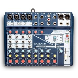 Soundcraft NOTEPAD 12FX - Mixer Analogico 12 Ch / Effetti