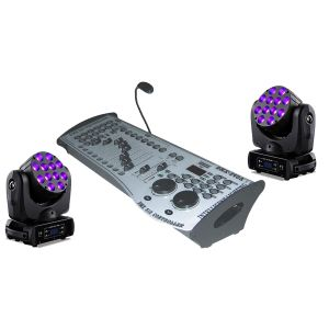 SOUNDSATION Set 2 Teste Mobili / DMX LC200 Bundle
