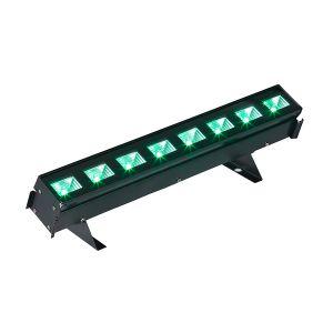 SOUNDSATION CLUB LINER 93 RGB - Barra LED Mini 8 LED da 3W RGB 3in1