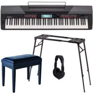 Medeli SP 4200 Set - Pianoforte da Palco / Stand / Panchetta / Cuffie