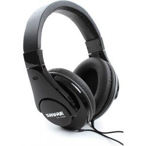 SHURE SRH240A Cuffie Professionale, DJ, Studio, mp3 e Hi-FI