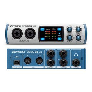 Presonus Studio 2   6 - Interfaccia Audio MIDI / USB 2 in / 6 Out