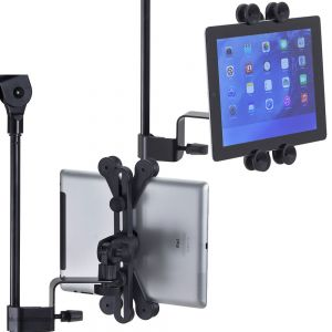 Supporto Tablet/iPad Aggancio a Leggio Asta Microfonica