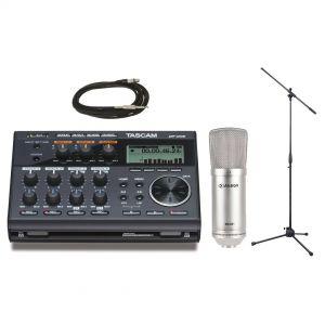 Tascam Recording Pack DP006 con Microfono da Studio