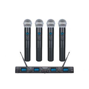 ZZIPP TXZZ640 Set Microfonico UHF / 4 Palmari