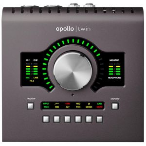 Universal Audio Apollo Twin Duo MKII MK2 - Interfaccia Audio Thunderbolt 2x6 per Mac e PC