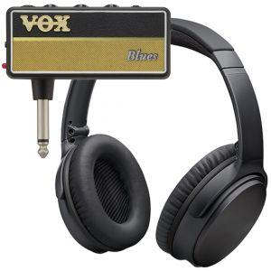 Vox Amplug 2 Blues Mini Amplificatore a Jack per Chitarra con Cuffie