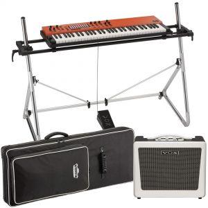 Vox Continental 61 Set - Tastiera 61 Tasti con Stand, Ampli e Borsa