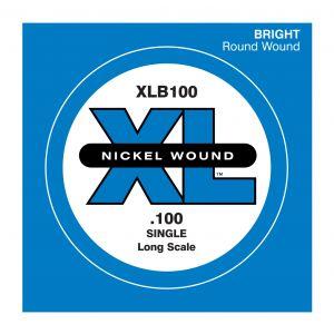 D'ADDARIO XLB100 - Singola per Basso Elettrico (100)