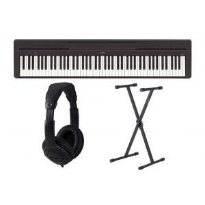 Yamaha P45 Black Set - Pianoforte Digitale / Supporto / Cuffie