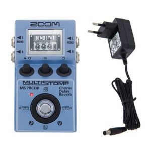 Zoom MS 70CDR - Multistomp con Alimentatore