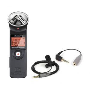 ZOOM H1 MB Recording Pack Registratore Digitale / Microfono Lavalier RODE SMARTLAV+
