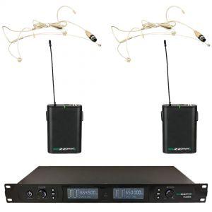 ZZIPP TXZZ801 - Radiomicrofono Doppio ad Archetto