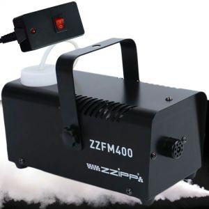 ZZIPP ZZFM400 Macchina Fumo nebbia DJ telecomando a filo