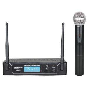 ZZIPP TXZZ101 - Radiomicrofono Gelato / Palmare Wireless VHF Karaoke DJ