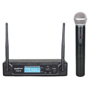 ZZIPP TXZZ102 Radiomicrofono Doppia antenna, Gelato / Palmare wireless vhf
