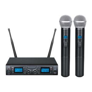 ZZIPP TXZZ620 Radiomicrofono Doppio / 2 Gelati uhf Borsa da trasporto
