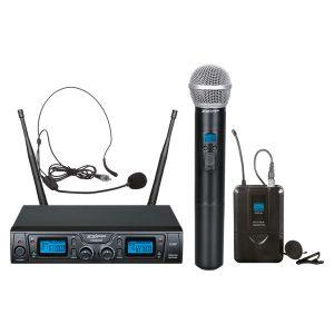 ZZIPP TXZZ622 Radiomicrofono / Gelato / Archetto uhf / Borsa da trasporto