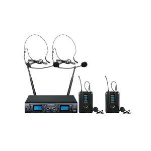 ZZIPP TXZZ624 - Radiomicrofono Doppio UHF ad Archetto