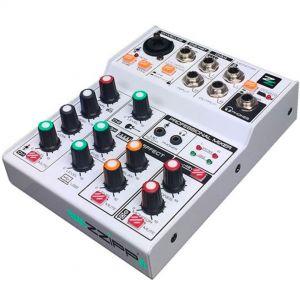 ZZIPP ZZMX3 Mixer Audio 3 Canali DJ Studio Karaoke
