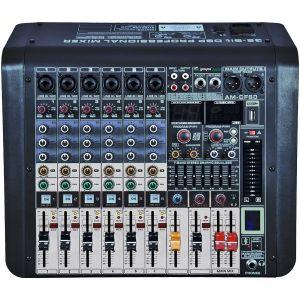 ZZIPP ZZMX6PR - Mixer DJ e Karaoke Professionale 6 Canali con Multieffetto DSP