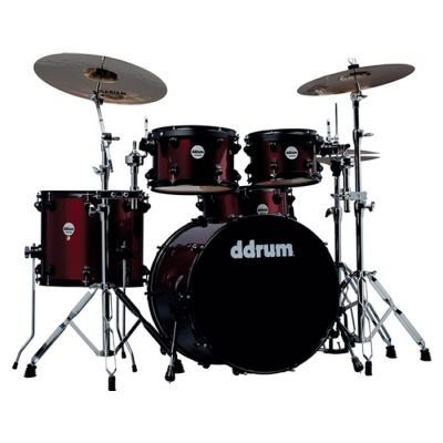 DDrum JMp522 WR Wine Red - BATTERIA ACUSTICA Journeyman Player
