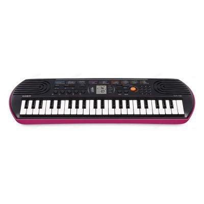Casio SA78 Tastiera Elettronica 44 Tasti Mini pianola Scolastica per Bambini