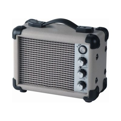 EKO I-5G Ampli 5 Watt White Amplificatore a batteria per chitarra elettrica 5 Watt