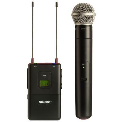Shure FP25/SM58 - Sistema Microfono per telecamera