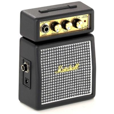MARSHALL MS2C Mini amplificatore portatile a batteria (Vintage) per Chitarra / iPhone iPad