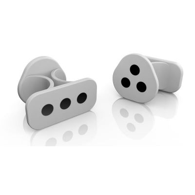 IK MULTIMEDIA iRing Silver (Coppia) - Motion Controller