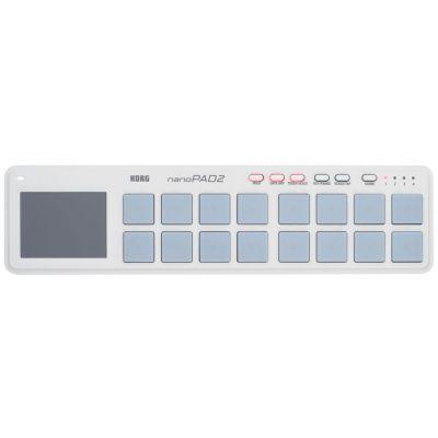 KORG nanoPAD 2 White - CONTROLLER MIDI 16 Pad