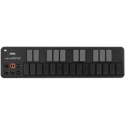 KORG nanoKEY 2 Black - CONTROLLER MIDI 25 tasti