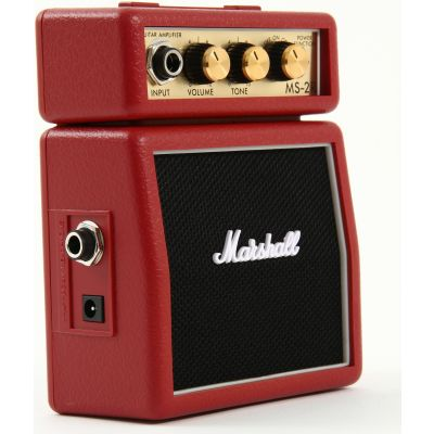 Marshall MS2R - Mini Amplificatore Rosso