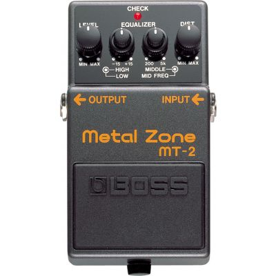 BOSS MT2 Effetto Metal Zone distortion con equalizzatore