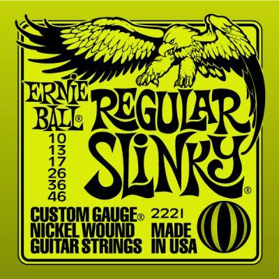 ERNIE BALL 2221 - Cordiera Regular Slinky (010-046)