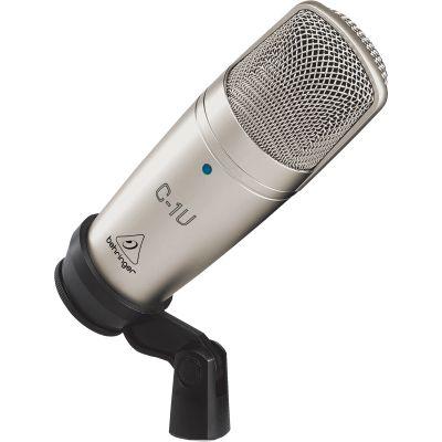 BEHRINGER C1-U Microfono USB professionale a condensatore