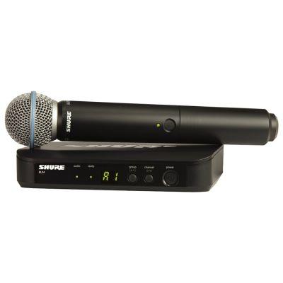 Shure BLX24E/B58 Beta58 M17 - Radiomicrofono con Capsula Beta58