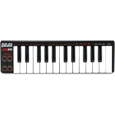 AKAI LPK25 Tastiera MIDI / USB con Controller / Arpeggiatore /Campionatore
