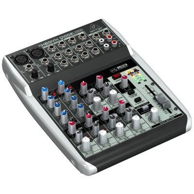 BEHRINGER XENYX Q1002 USB Mixer AUDIO DJ e Karaoke
