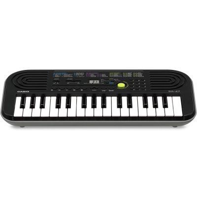 Casio SA47 Tastiera Elettronica 32 Tasti pianola Grigio Scolastica per Bambini