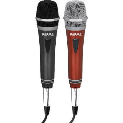 KARMA DM 522 - KIT 2 MICROFONI Karaoke, canto e voce