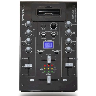 DJ TECH iMX10 - iPOD DOCK MIXER PER DJ
