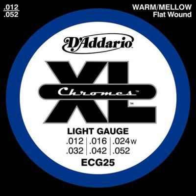 D'addario Ecg25 - Muta Corde Light Chitarra Elettrica (012-052)