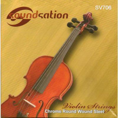 Corde Violino Muta, Set Completo