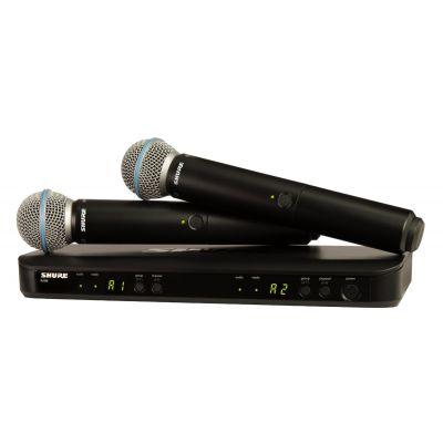 Shure BLX288E/B58 M17 - Radiomicrofono con Doppio Beta58