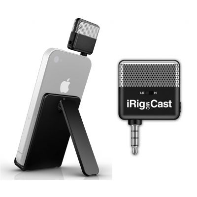 IK MULTIMEDIA iRig MIC Cast - MICROFONO PER iPhone/iPod touch/iPad